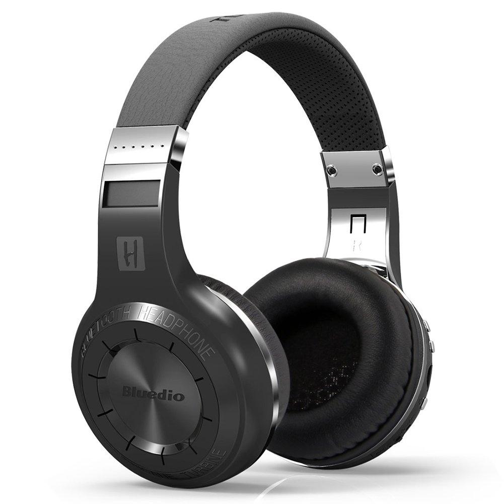 Wulidasheng ワイヤレスBluetoothヘッドホン ファッション スポーツ Bluetooth 4.1 ワイヤレスヘッドフォン HiFi スーパーバス ステレオヘッドセット - ブラック B07PYDNQ3H