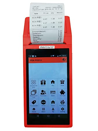Amazon.com: LENVII Sistema de PDA de mano Android con ...