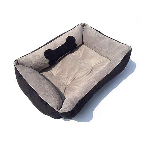 PLDDY Cama para perros, Cama corta para mascotas de primera calidad, Cama suave suave
