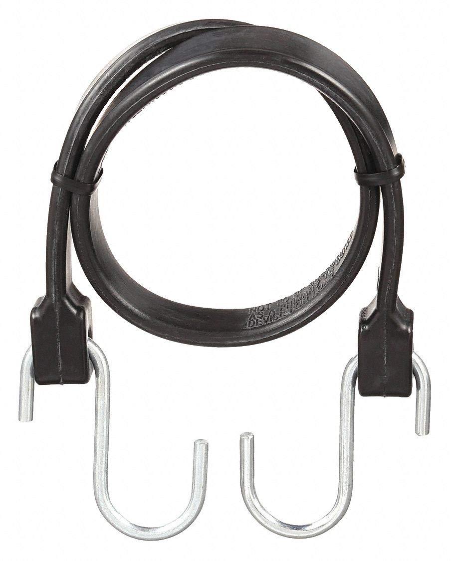 Bungee Strap,S-Hook,24 In.L,PK10 KEEPER 06224-10