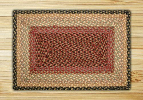 Earth Rugs Rug 8 x 10 Burgundy Gray Cream