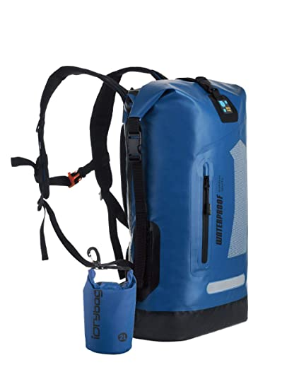 0b963221304b IDRYBAG Waterproof Backpack 30L Roll Top Clouse Compression Sack Dry Gear  Bags for Kayaking