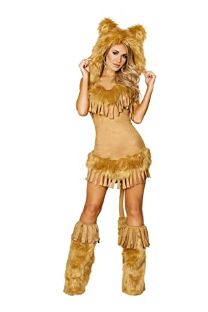0eb790df3 Amazon.com: The Bashful Lion Adult Costume - Large: Clothing