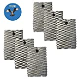 HQRP 6-pack Wick Humidifier Filter for Bionaire BWF100 / BWF-100, BWF100CS, BWF100P Replacement + HQRP Coaster