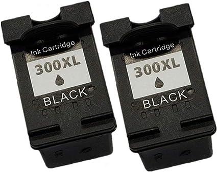 Cartuchos de tinta remanufacturados sin nombre para HP 300 XL HP300 HP300XL 300XL Deskjet F4200 F4210 F4213 F4224 F4230 F4225 F4240 F4250 F4272 F4273 F4400 F4424 F4435 F4440 2 negros: Amazon.es: Oficina