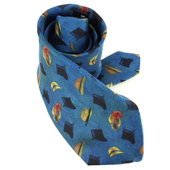 Brochier Soieries 1890 - Corbata de seda, diseño de renos: Amazon ...