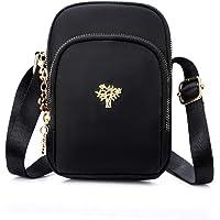 Nylon Cell Phone Purse Small Crossbody Bag for Women Girls Little Purse Wallet Crossbody Pouch