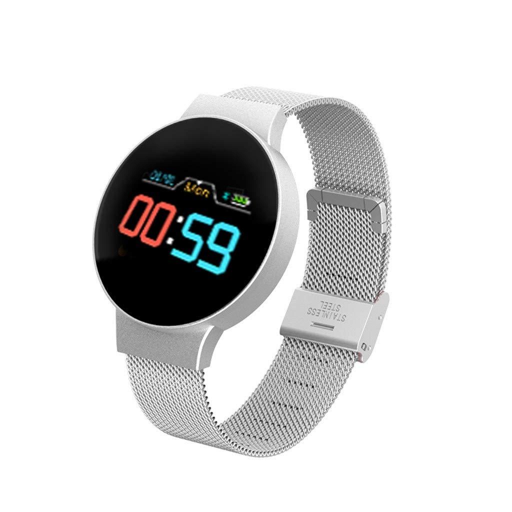 htfrgeds Bluetooth Smartwatch Reloj Deportivo para Ciclismo ...