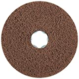 PFERD 48129 Combiclick Non-Woven Disc, Soft Type, 4'' Diameter, 12,000 RPM, Very Fine Grit (Pack of 10)
