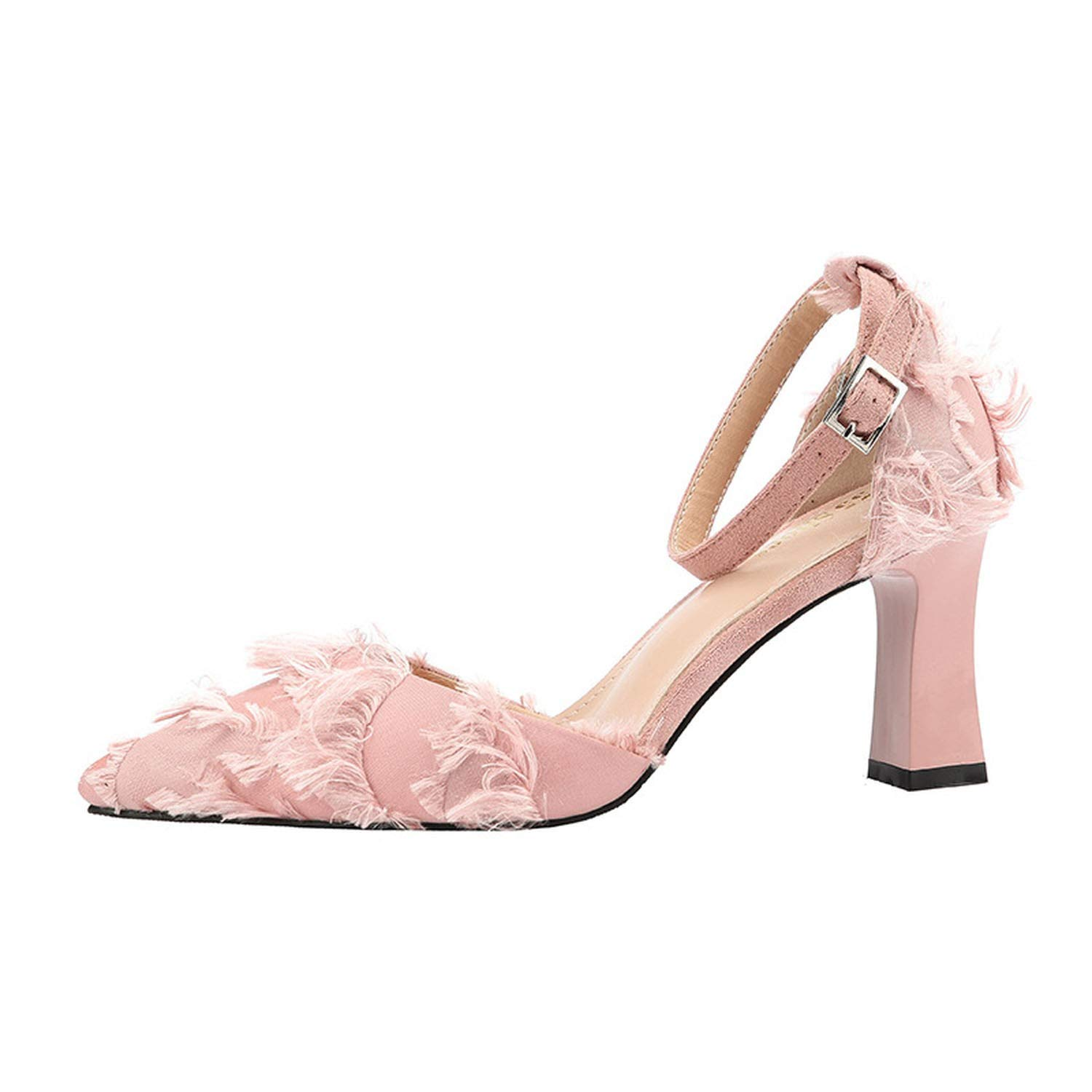 Pink DATAIYANG Sexy Pointed Shallow Mouth High Heels Nightclub was Thin Temperament Single shoes