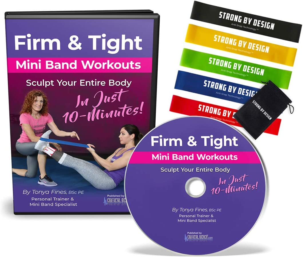 Amazon.com : Critical Bench Firm and Tight Mini Band Workouts ...