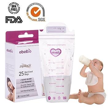300ML Disposable Breastmilk Storage Bags Breastfeeding Freezer