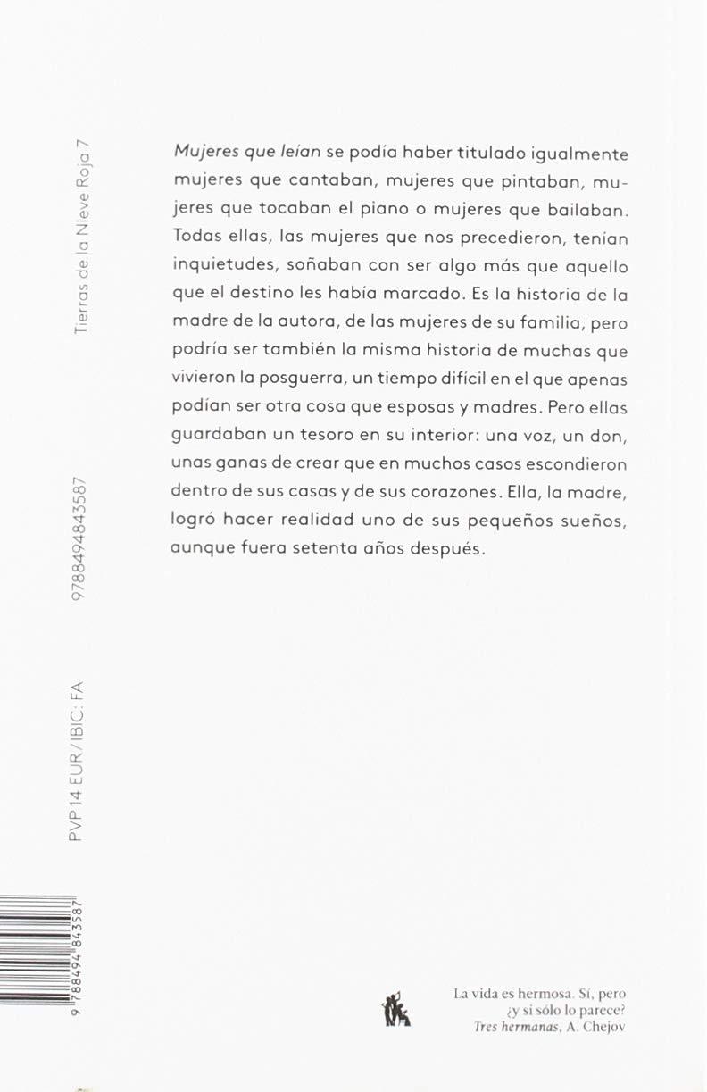 Mujeres que leían: 7 (Tierra de la Nieve Roja): Amazon.es: Rosa ...