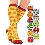 Go2Socks Holiday Compression Socks   Women Men Nurses Runners   15-20 mmHg Medical Stockings