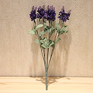 High emulation spend 10 head lavender Lavender Home living room decorated in european style flower false flowers SILK FLOWER 95