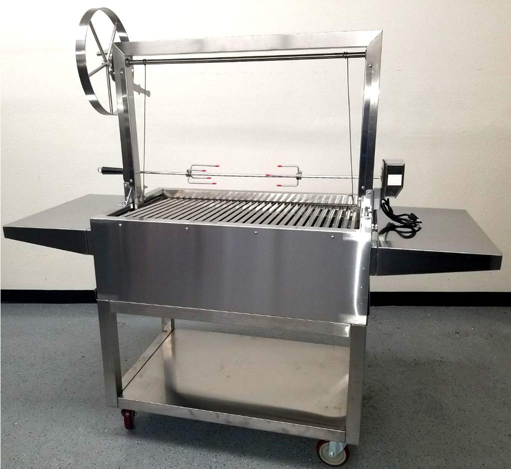 Amazon.com: Charcoal Outdoor BBQ, Stainless Steel #430 Body ...