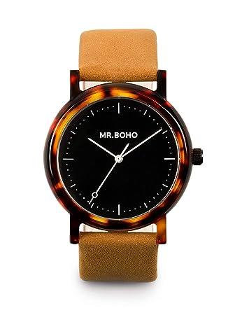 Mr Boho Reloj Mujer 36mm con Correa Marron y Pantalla en Marron 00728635