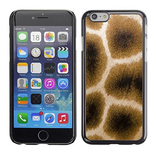 "Premio Sottile Slim Cassa Custodia Case Cover Shell // V00002441 Giraffe fourrure // Apple iPhone 6 6S 6G 4.7"""