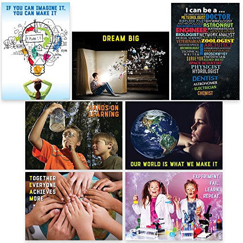 Creative Teaching Press STEM Intermediate 7-Poster Pack (7275)