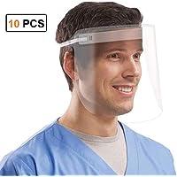 10 PACK Pantalla Protección Facial Transparente, Pantalla Protectora