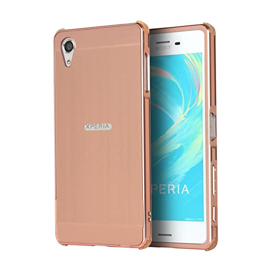 cf3562af83 Sony Xperia X Performance Case, Forhouse Hard PC Thin Metal Frame Bumper  Case with [