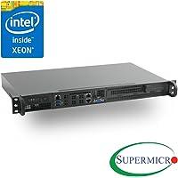 Supermicro Xeon D-1521 Mini 1U Rackmount, Front I/O,10GbE, IPMI, RS-SMX104C2N-FIO