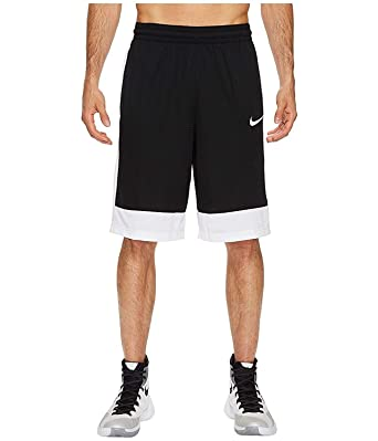 Nike Men/'s Dri-FIT Fastbreak Basketball Shorts 831404-011 Black//White