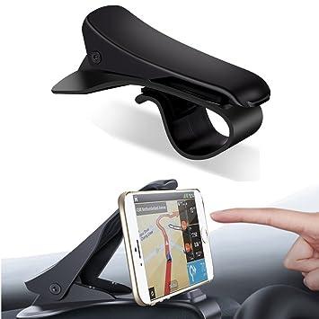 Coscod - Soporte universal ajustable para teléfonos inteligentes para salpicadero de coche
