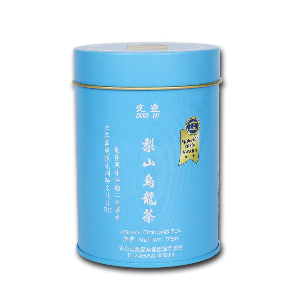DING IN Lishan Oolong Tea 75g/can by Ding In ltd. (Image #1)