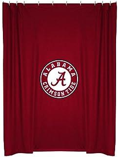 NCAA Alabama Crimson Tide Shower Curtain