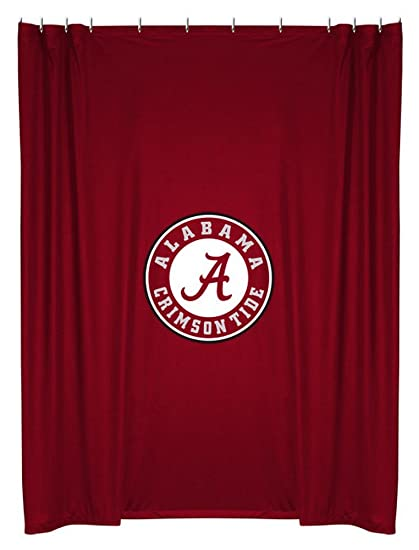 Etonnant NCAA Alabama Crimson Tide Shower Curtain