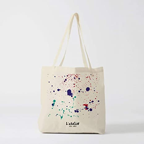 Bolso de lona para pintar, bolso de mano, bolsa de pañales ...
