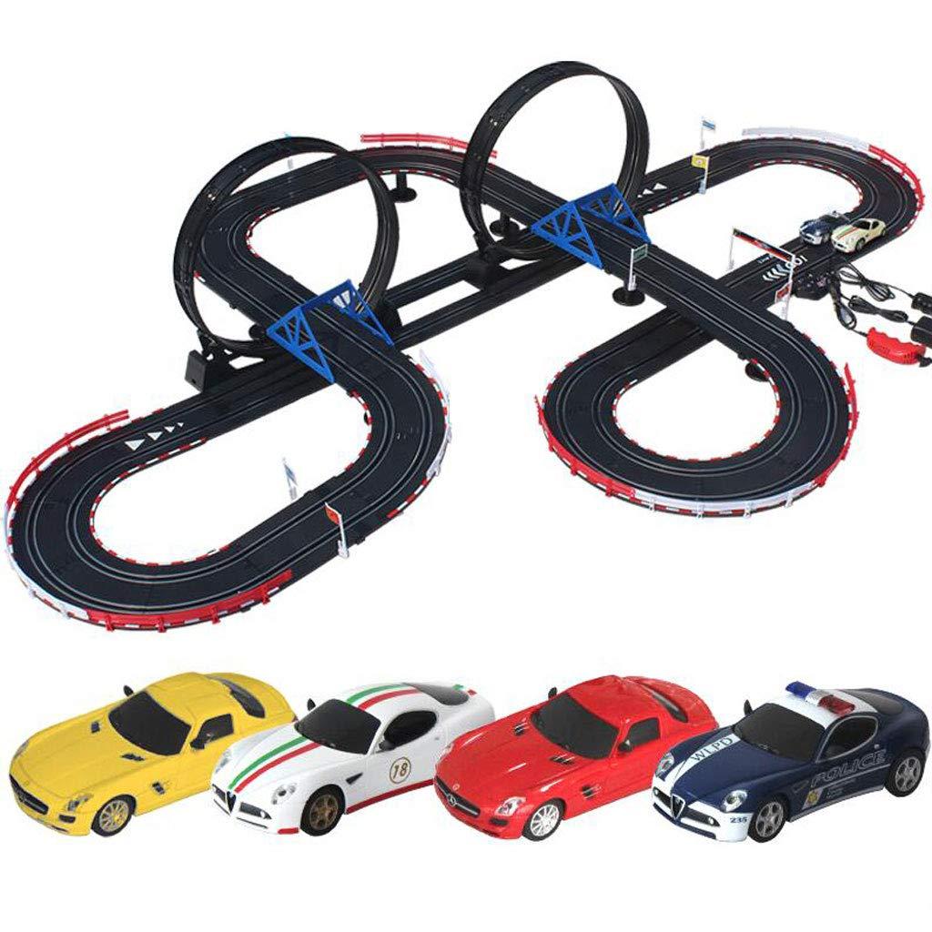 Junge Eisenbahnwaggons Kinder Kinder Kinder Zug elektrische Fernbedienung Auto Racing große Spur - tolles Spielzeug für Jungen bca72b