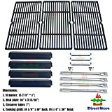 cast iron tube - Direct store Parts Kit DG168 Replacement Charbroil Commercial 463268107 Grill Repair Kit (SS Burner + SS carry-over tubes + Porcelain Steel Heat Plate + Porcelain Cast Iron Cooking Grid)