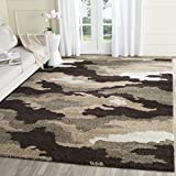 Safavieh Camouflage Shag Collection SG453-1391 Beige and Multi Area Rug (8′ x 10′) Review
