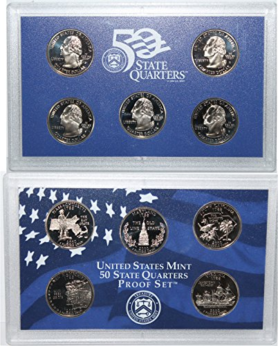 2000 S 2000 Proof quarter set Original Mint (2000 Proof Set)