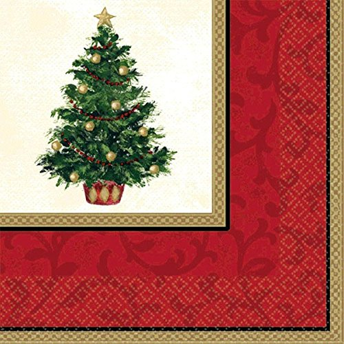 Amscan Classic Christmas Tree Dinner Napkins, 16 Ct. | Party -