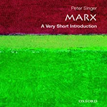 Marx: A Very Short Introduction Audiobook by Peter Singer Narrated by Kyle Munley