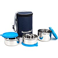 Signoraware Executive SS Lunch Box Set of 3_Aug19