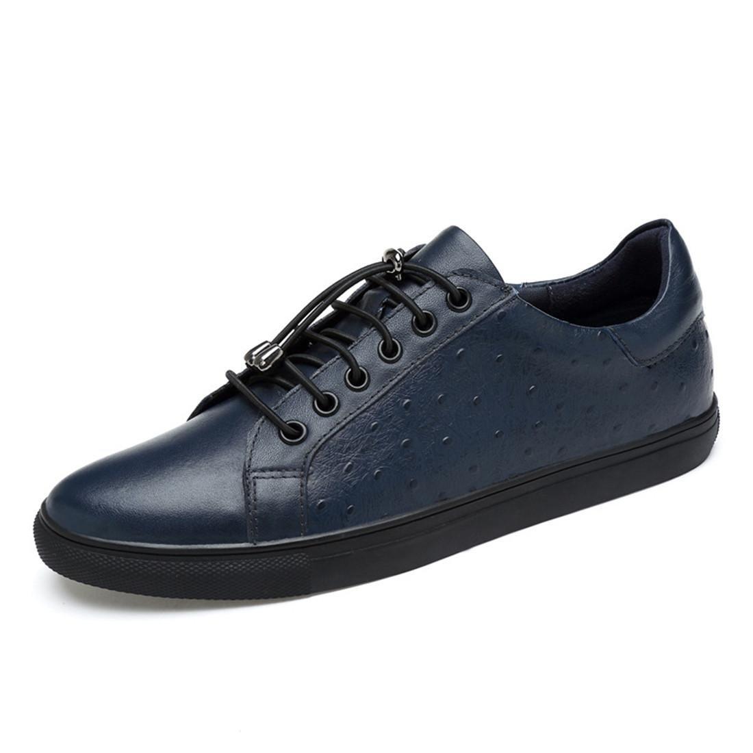 Herren Freizeit Lederschuhe Rutschfest Flache Schuhe Ausbilder Lässige Schuhe Große Größe Gemütlich EUR GRÖSSE 38-46
