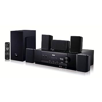 Amazon.com: Sistema de cine en casa con receptor de audio ...