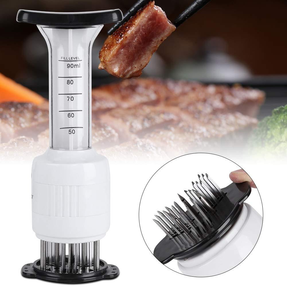 Attendrisseur de viande Attendrisseur de viande Marinade Injecteur /à aiguille Biftecks Saveur Seringue Cuisine Cuisine