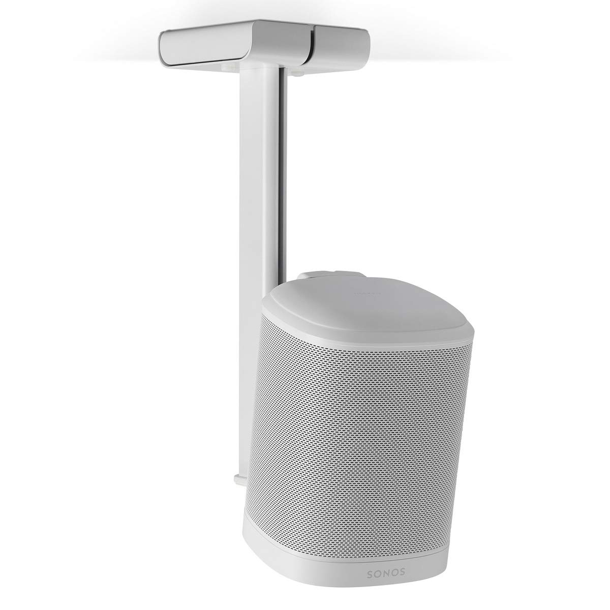 Flexson Ceiling Mount for Sonos One or Play:1 (White) by Flexson