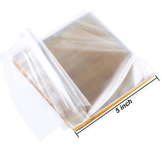 Amazon.com: Resinta - 300 hojas de envoltorios de caramelo ...