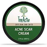 TreeActiv Acne Scar Cream | Fade Away Pimple Marks, Blemishes & Dark Spots | Reduces the Appearance of Old & New Scars | Rosehip Oil, Quaternized Honey, Jojoba Oil, Aloe Vera, Vitamin E (2 fl oz)