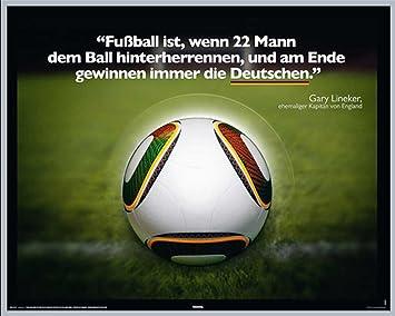 Fussball Gary Lineker Zitat Sport Fussball Spruch Mini
