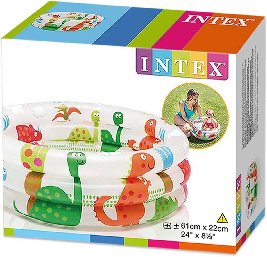 Intex 57106NP - Piscina hinchable colores con base hinchable 61 x ...