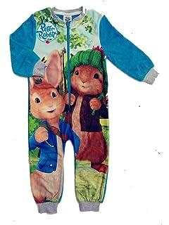 Character Boys Jurassic World  All in One Sleep suit Pyjama Fleece 4 to 10 Years