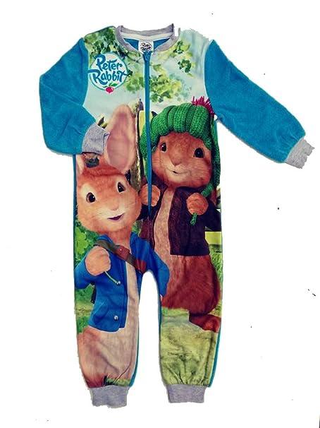 Pijama de Forro Polar para niños, Todo en uno, tamaño 18 Meses, 2
