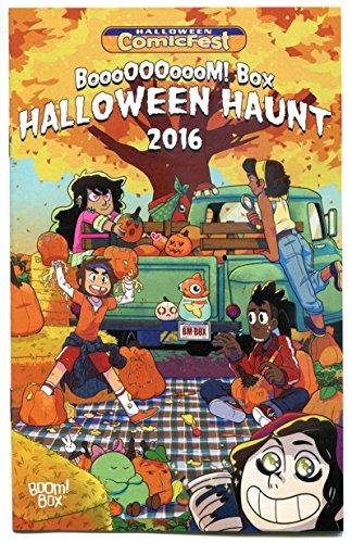 BOOM BOX Halloween Haunt ashcan, Promo, 2016, NM, more promos in store,ComicFest -